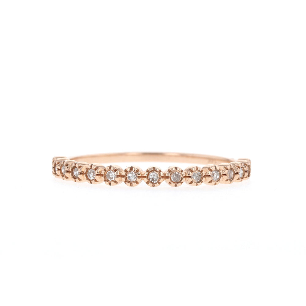 Dainty Half - Ready to Ship - Rose Gold