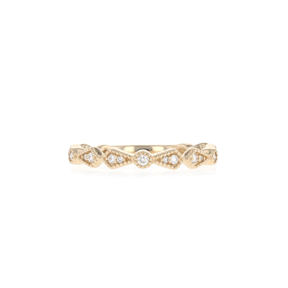 Deco - Ready to Ship - Yellow Gold