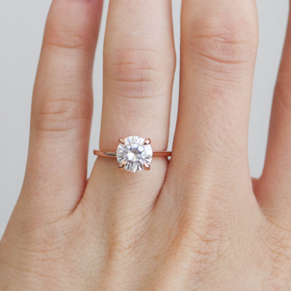 Caroline - 8mm Moissanite - Ready to Ship