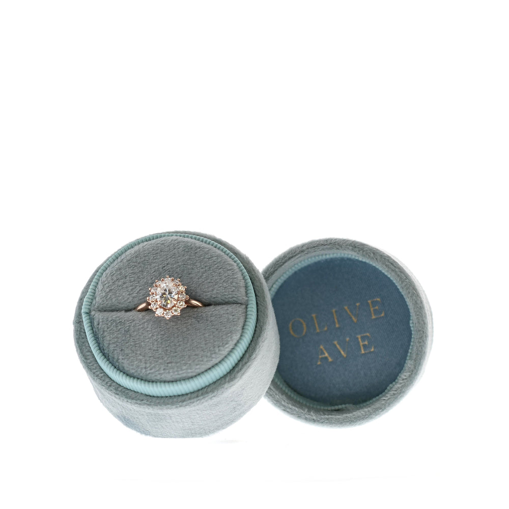 Velvet Heirloom Ring Box - Small