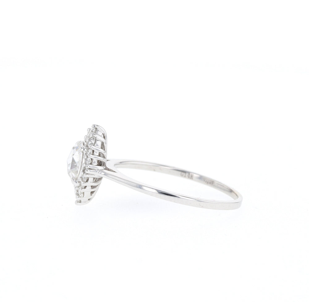 Ryder Rose Cut - White Gold - Ready to Ship