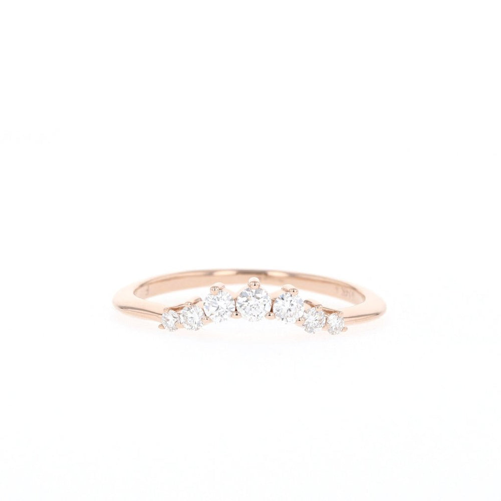 Solitaire Contour - Ready to Ship - Rose Gold