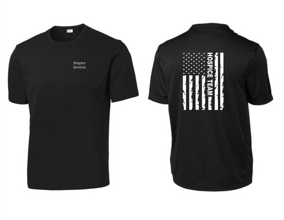 PHW - Hospice Flag - Dri-Fit T-Shirt