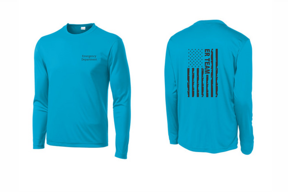 PHW - ER Team Flag - Dri-Fit Long Sleeve