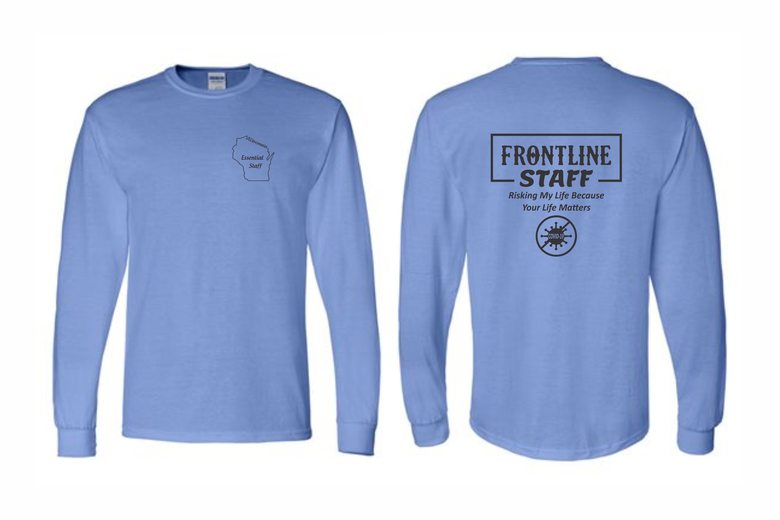 ProHealth Waukesha ER - Long Sleeve T-Shirt - Frontline Staff