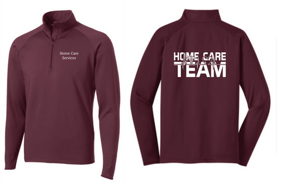 PHW - Home Care Team - Mens 1/2 or Full Zip Jacket