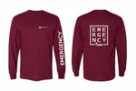 Load image into Gallery viewer, UnityPoint Des Moines Maroon Long Sleeve