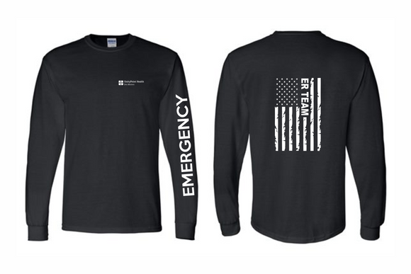 UnityPoint Des Moines Black Long Sleeve