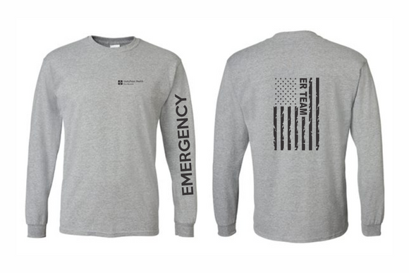 UnityPoint Des Moines Grey Long Sleeve
