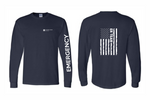 Load image into Gallery viewer, UnityPoint Des Moines Navy Long Sleeve