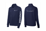 Load image into Gallery viewer, UnityPoint Des Moines Navy Fleece Jacket