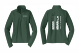 PHW - ER Team Flag - Ladies 1/2 Zip
