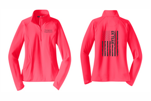ProHealth Waukesha ER - Ladies 1/2 Zip - ER Team Flag
