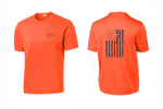 Load image into Gallery viewer, ER Team Flag Dri-Fit Short Sleeve T-Shirt - 14 Color Options