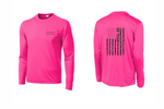 Load image into Gallery viewer, ER Team Flag Dri-Fit Long Sleeve T-Shirt - 13 Color Options