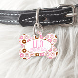 Personalized Dog Bone Pet Tag - BPT0001- BPT0040