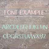 Font Example - S'Berry Boutique, LLC