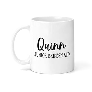 Personalized Junior Bridesmaid Coffee Mug - M0534