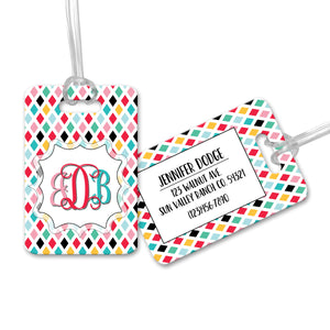 Personalized Monogram Luggage Tag - LT0002