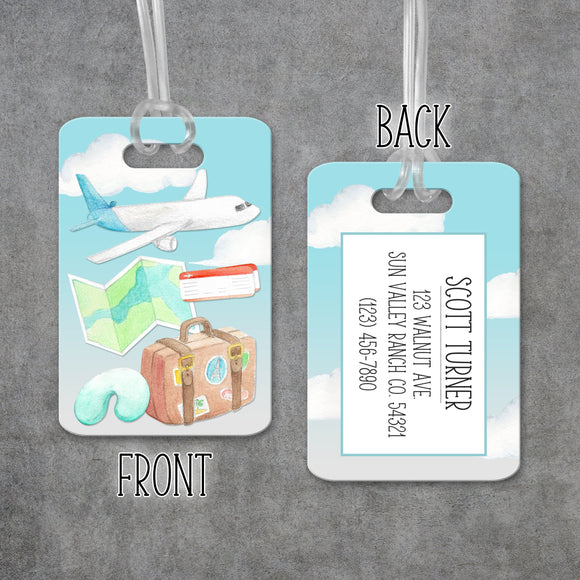 Personalized Travel Luggage Tag - LT0024