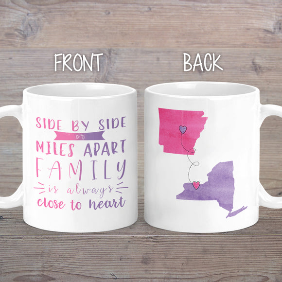 Family Long Distance Mug - M0403