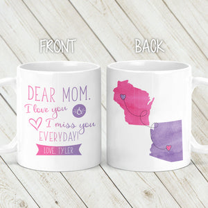 Mother's Day Long Distance Mug - M0479