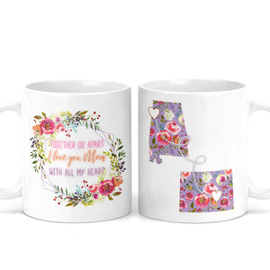 Mother's Day Long Distance Mug - M0511