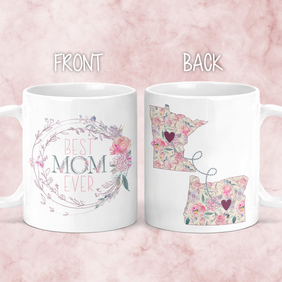 Mother's Day Long Distance Mug - M0512