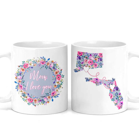 Mother's Day Long Distance Mug - M0513
