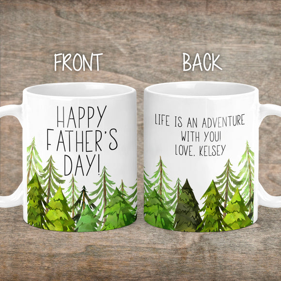 Personalized Happy Father's Day Coffee Mug - M0515