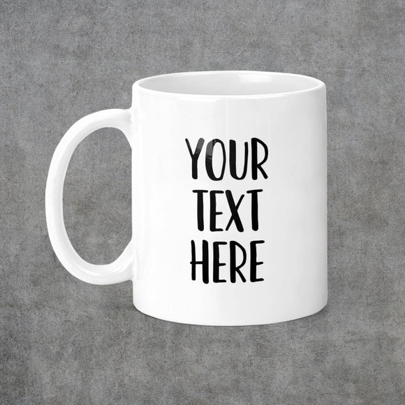 Personalized Create Your Own Coffee Mug - M0522
