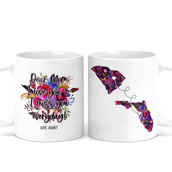 Mother's Day Long Distance Mug - M0544