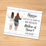 Personalized Asking Matron of Honor Puzzle - P2365