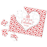 Personalized Be My Valentine Puzzle - P0097