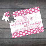 Valentine's Day Pregnancy Announcement Puzzle - P2135