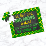 St. Patrick's Day Pregnancy Announcement Puzzle - P2136