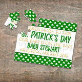 St. Patrick's Day Pregnancy Announcement Puzzle - P2137