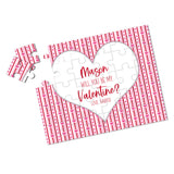 Personalized Be My Valentine Puzzle - P2356
