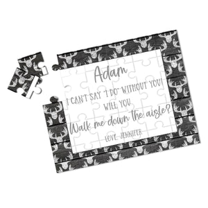 Personalized Walk Me Down The Aisle Puzzle - P2360