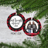 Personalized Best Friends Forever Christmas Ornament - RO0037