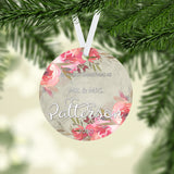 Personalized Our First Christmas As Mr. & Mrs. Ornament - RO0121