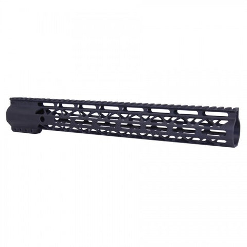 "15"" AIR-LOK M-LOK Free Float Handguard W/ Monolithic Top Rail"