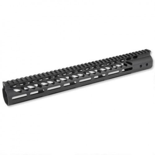 "15"" Guntec Ultra Lightweight MLOK Handguard (USA MADE)"