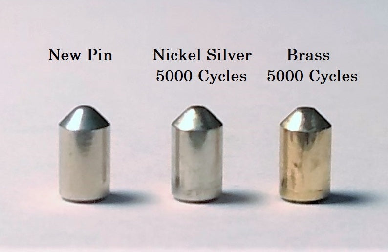 Nickel Silver Pin Test