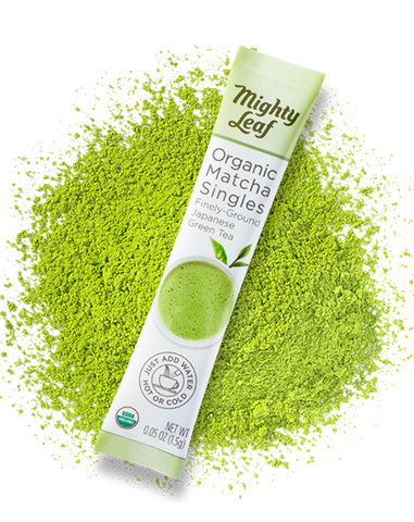 Organic Matcha Singles - Mighty Leaf
