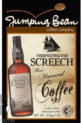 Jumping Bean Newfoundland Screech Rum Coffee