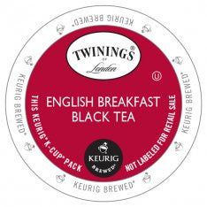 Twinings English Breakfast Black Tea & DECAF