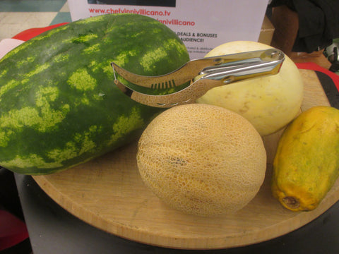 Chef Vinni's Melon and Cake Slicer