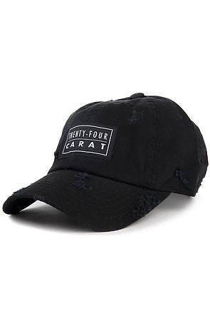 """Destroyed"" Dad Cap - Black"
