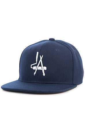 """LA Paintbrush"" Snapack - Navy Blue"